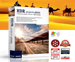 HDR Projects Platin vom Franzis-Verlag